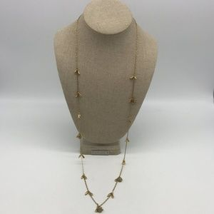 Stella & Dot Gold-Tone Long Necklace